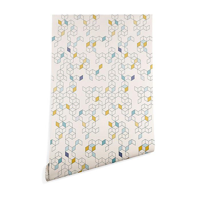 Alternate image 1 for Deny Designs Florent Bodart Keziah Day 2-Foot x 8-Foot Peel and Stick Wallpaper