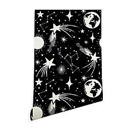 Deny Designs Heather Dutton Solar System 2-Foot x 10-Foot Peel and Stick Wallpaper