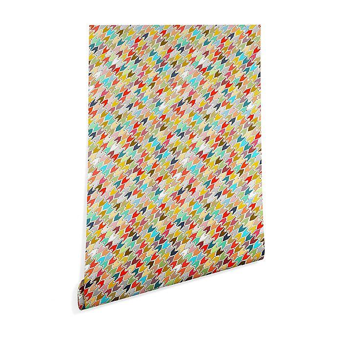 Alternate image 1 for Deny Designs Sharon Turner Rashmi Ikat 2-Foot x 8-Foot Peel and Stick Wallpaper