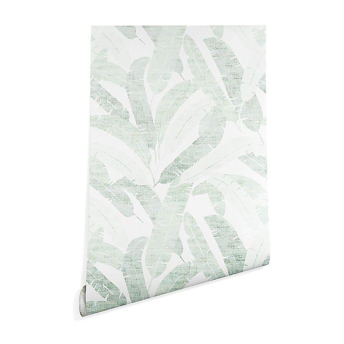 Alternate image 1 for Deny Designs Holli Zollinger Banana Leaf Peel & Stick Wallpaper