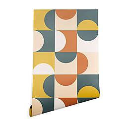 Deny Designs The Old Art Studio Mid Century Modern 2-Foot x 10-Foot Peel & Stick Wallpaper