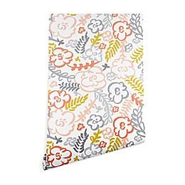 Deny Designs Heather Dutton Floral Brush Peel & Stick Wallpaper