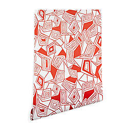 Deny Designs Heather Dutton Fragmented Flame Peel and Stick Wallpaper