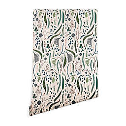 Deny Designs Holli Zollinger Wilder 2-Foot x 10-Foot Peel and Stick Wallpaper in Beige