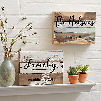 This Is Us Reclaimed Wood Wall Sign