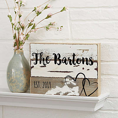 Love Reclaimed Wood Wall Sign
