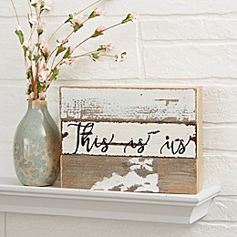 Expressions Reclaimed Wood Wall Sign
