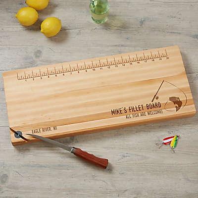 Big Catch 10-Inch x 24-Inch Maple Fillet Board