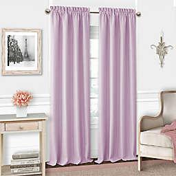 Adaline Rod Pocket Blackout Window Curtain Panel and Valance
