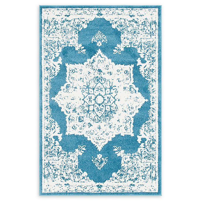 Alternate image 1 for Venice Canal 4' x 6' Area Rug in Blue