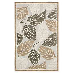 Unique Loom Augusta Transitional Area Rug in Beige/Black