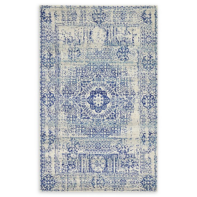Alternate image 1 for Unique Loom Bouquet Heritage 5' X 8' Powerloomed Area Rug in Ivory