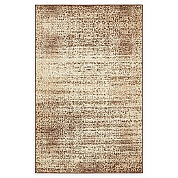Unique Loom Harvest Traditions Rug in Beige