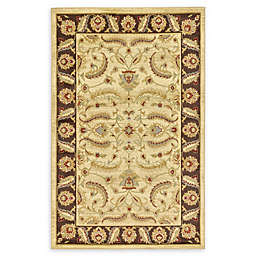 Unique Loom Hickory Agra Rug in Cream