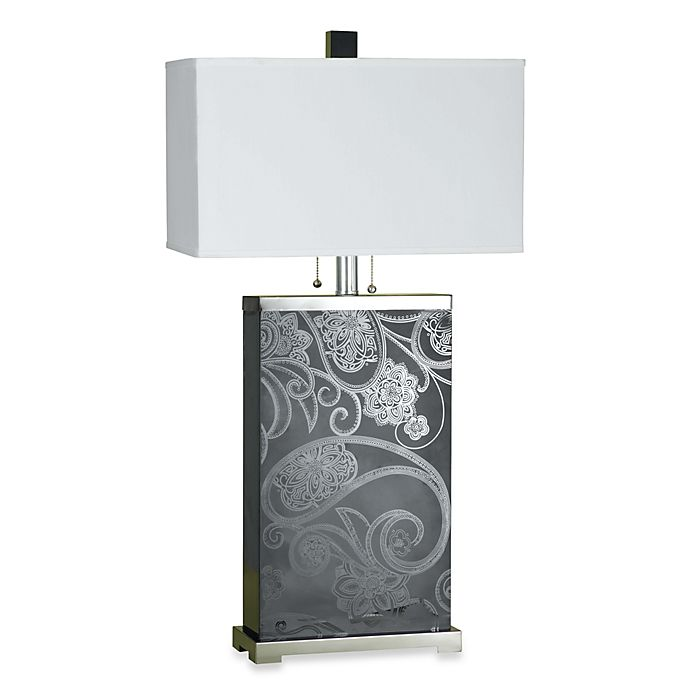Af Lighting Candice Olson Paisley Table Lamp Bed Bath Beyond