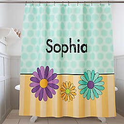 Just For Her Personalized Shower Curtain