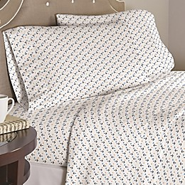 Pointehaven Anchors 200-Thread-Count Cotton Percale Twin XL Sheet Set