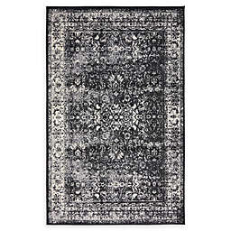 Unique Loom Istanbul Bosphorus Powerloomed Rug in Light Grey