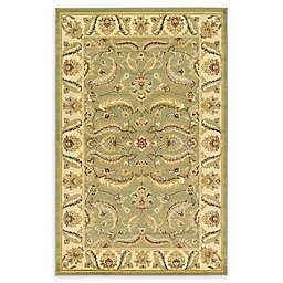 Unique Loom Hickory Agra Rug in Green