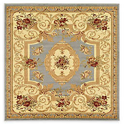 Unique Loom Henry Versailles 6' x 6' Area Rug in Light Blue