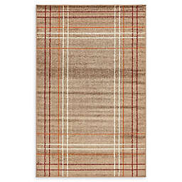 Unique Loom Harvest Heritage Area Rug in Light Brown