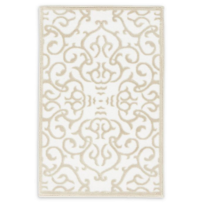 Alternate image 1 for Unique Loom Himalaya Johnson 2' X 3' Powerloomed Area Rug in Snow White