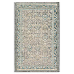 Unique Loom Kasern Salzburg Area Rug in Grey
