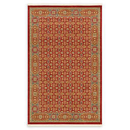 Unique Loom Jefferson Palace Rug in Red