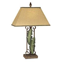 Pacific Coast Lighting® Banana Leaves Table Lamp