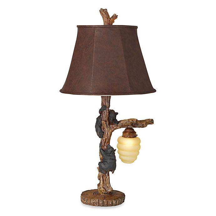 Alternate image 1 for Pacific Coast Lighting® Honey Bear Nightlight Table Lamp