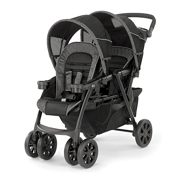 Alternate image 1 for Chicco® Cortina Together Double Stroller in Minerale