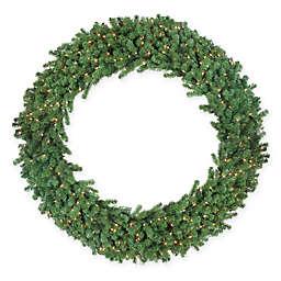 Northlight Pre-Lit Deluxe Windsor Wreath