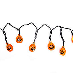 LED Jack-O-Lantern String Lights