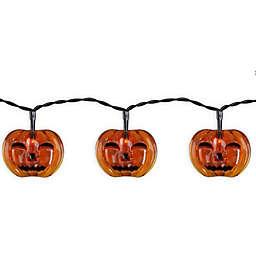 Halloween Pumpkin 10-Light LED String Lights