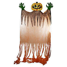 Northlight® Scary Jack-o'-Lantern with Monster Hands Hanging Halloween Decoration