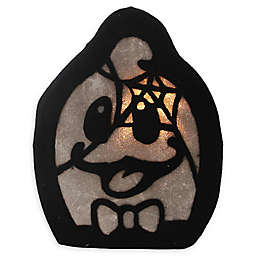 Northlight® Pre-Lit LED Spooky Ghost Face Halloween Decoration in Black