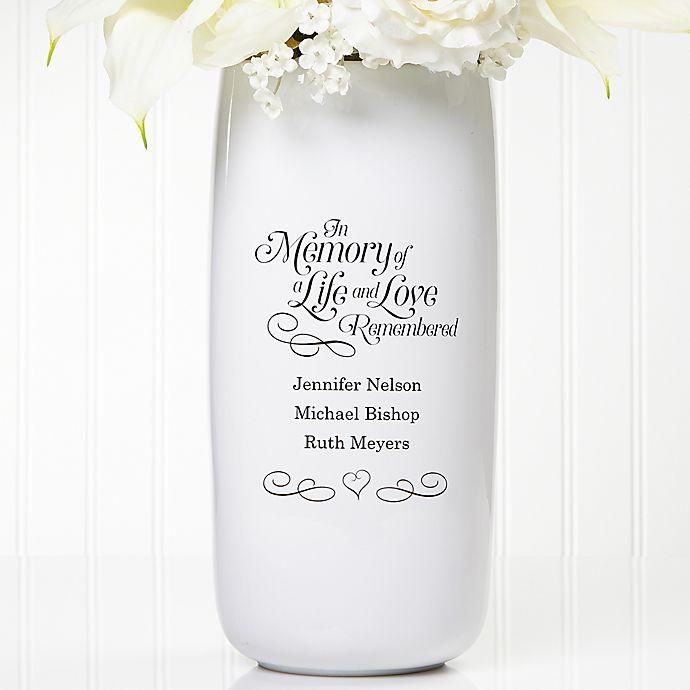 Alternate image 1 for In Memory Ceramic Vase