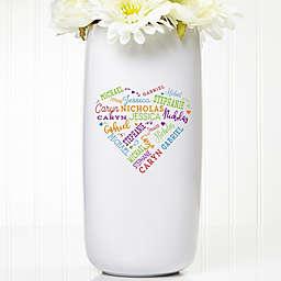 Close to Her Heart Ceramic Vase