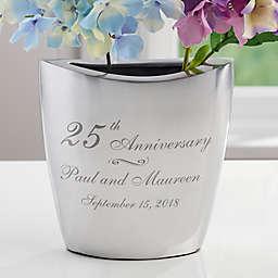 Everlasting Love Aluminum Vase