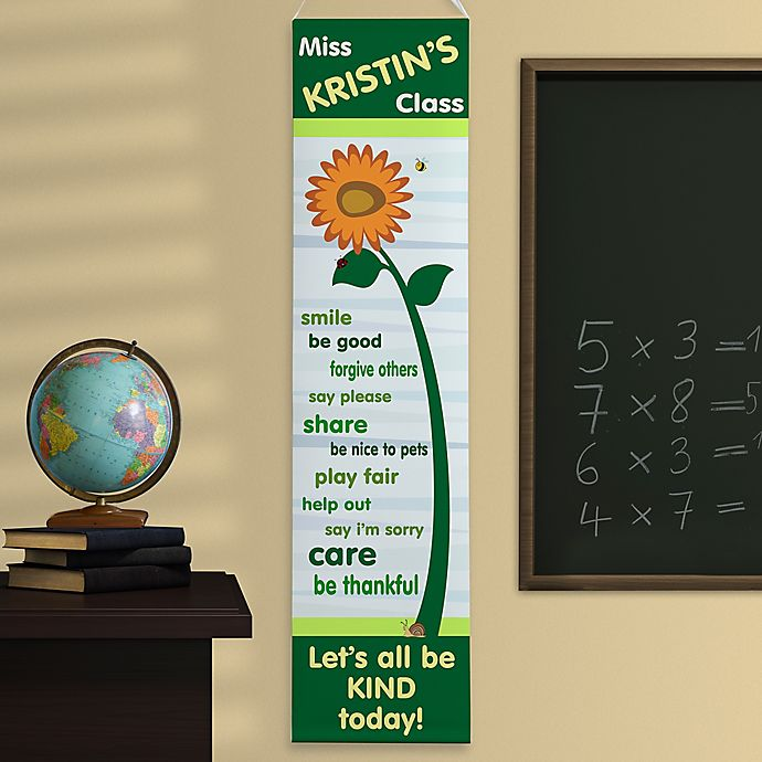 Alternate image 1 for Personalized Little Learners Classroom Banner