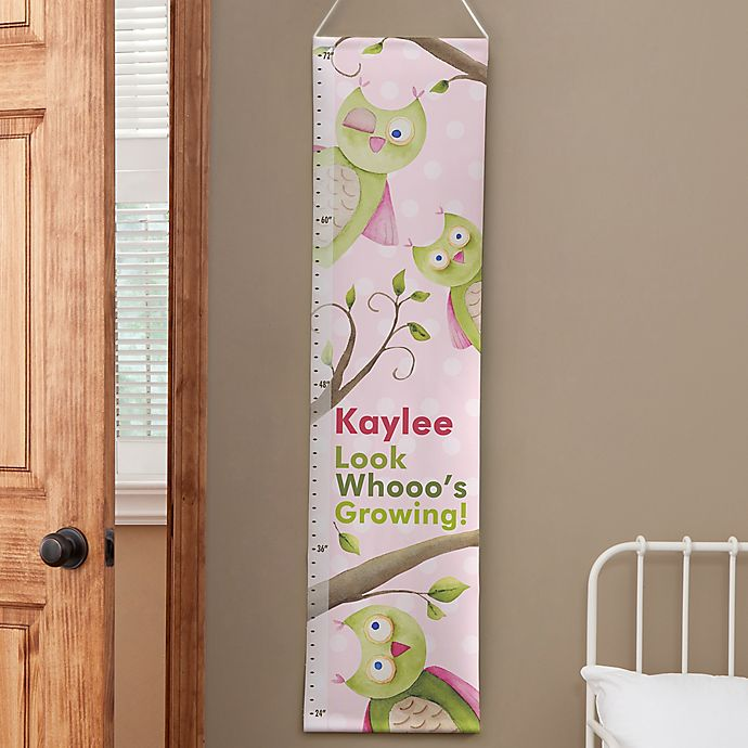 Alternate image 1 for Personalized Owl About You Growth Chart