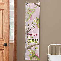 Personalized Owl About You Growth Chart