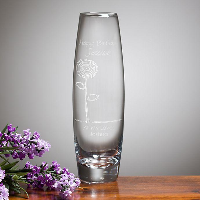 Alternate image 1 for Birthday Blooms Bud Vase