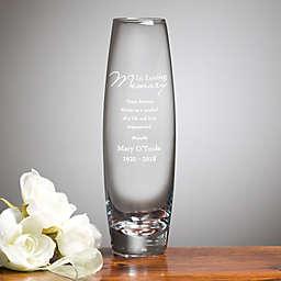 Memorial Bud Vase