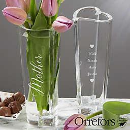 Orrefors Crystal Heart for Mom Bud Vase