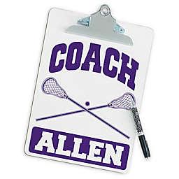 Lacrosse Coach Clipboard