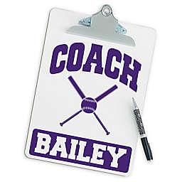 Softball Coach Clipboard
