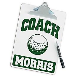Golf Coach Clipboard