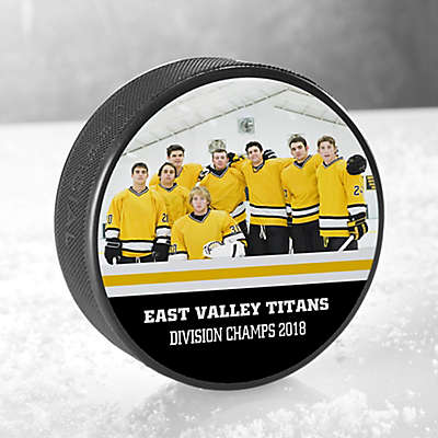 My Team Hockey Puck