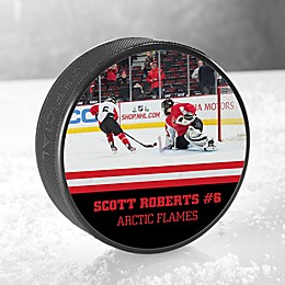 My Photo Hockey Puck